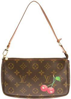 f9d49b2fb869 Louis Vuitton Vintage cherry print clutch on shopstyle.com Louis Vuitton  Coin Purse