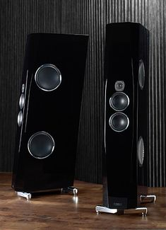 TIDAL Audio Agoria SE Speaker – $105,000 per pair ( no worries honey , I would never spend this much on a pair of speakers )