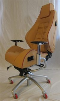 ferrari office chair. ferrari f430 daytona office chair u