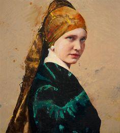 Lita Cabellut - Contemporary Artist - Modern Figurative Painting