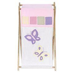 "Sweet Jojo Designs Pink and Purple Butterfly Collection Laundry Hamper - Sweet JoJo Designs - Babies ""R"" Us"