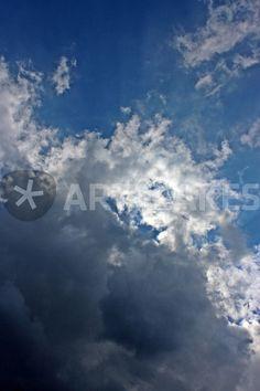 """""""Dunkle Wolken ziehen auf"""" Fotografie als Poster und Kunstdruck von toeffelshop bestellen. - http://www.artflakes.com/de/products/dunkle-wolken-ziehen-auf-3"""