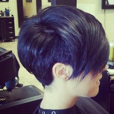 Short hair cut done by Ashley Stone of Salon Alexander