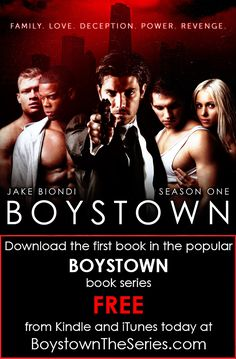 Check out the BOYS of summer in the summer's hottest book series!  BoystownTheSeries.com  BOYSTOWN is available in AUTOGRAPHED paperback, audio book, and all e-book formats.