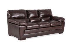 Lacks Biscayne Leather Sofa