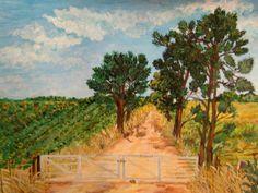 MARIA ANGELA Vineyard, Painting, Outdoor, Art, Paintings, Outdoors, Painting Art, Kunst, Paint