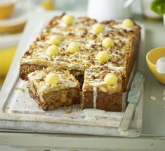 A yummy fruity simnel cake - but looks like it could be baked at any time