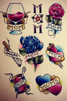 "Flash sheet ""Mom"""