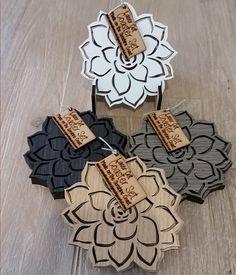 Emma Louise Designs — Succulent Laser Cut Coaster Set