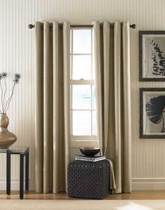 Monterey Textured Lined Grommet Drapery