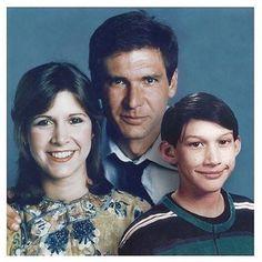 Solo Family Photo #theforceawakens