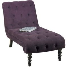 Purple Chaise Lounge.