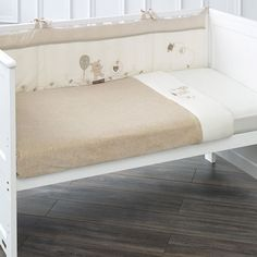 Hug Me Bear 3 Piece Crib Bedding Set