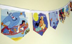 Aladdin Storybook Paper Bunting by MagpieSailor on Etsy