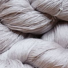 35 Hand Dyed Silk, Hand Dyed Yarn, Pale Violet, Violet Ice, 2/20 & 2/30 Silk Lace Weight Yarn by JaneStaffordTextiles on Etsy