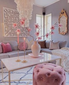 are in the mood for eclectic interior design.We are in the mood for eclectic interior design. Living Room Decor Cozy, Glam Living Room, Bedroom Decor, Living Room Ottoman Ideas, Pink Living Rooms, Wall Decor, Blush Pink Living Room, Wall Art, Pastel Living Room