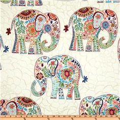 elephant flannel