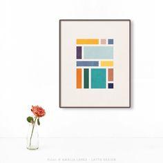 New minimal geometric print. Link to the shop in bio
