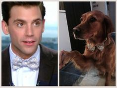 Mika admitted that it's the same bow tie he bought for Mel this new years :D
