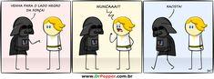 O vitimismo chegou em Star Wars... O racismo começa quando o 'lado negro' é o mau ...