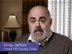 Online PR Training & Certification: Develop strategic, effective and relevant PR skills.   Greg Jarboe: Online PR Faculty Chair at Market Motive.  #marketmotive