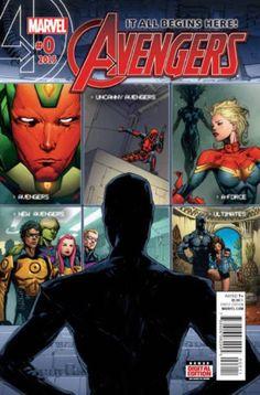 Avengers #0 - Marvel Comics (2015)