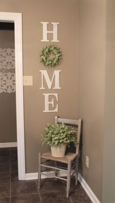 DIY HOME WREATH WALL DECOR - Decorate & More with Tip