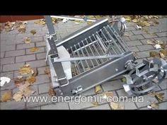 Картофелекопалка вибрационного типа Zemlyak.com.ua - YouTube
