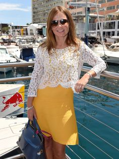Geri Horner attends the Infiniti Red Bull Racing Energy Station at Monte Carlo in Monte-Carlo, Monaco.  Karwai Tang, Getty Images