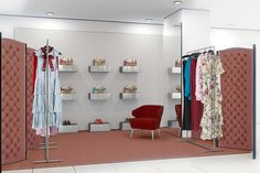 O espaço da Gucci no Dover Street Market em Tóquio (Foto: Reprodução)