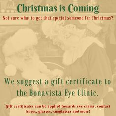 Call or come in to purchase yours today! Gift certificates can be used towards any in office purchase from an eye exam to drops, glasses accessories, sunglasses, glasses and more! Eye Exam, How To Apply, How To Get, Gift Certificates, Clinic, Promotion, Sunglasses, Eyes, Accessories