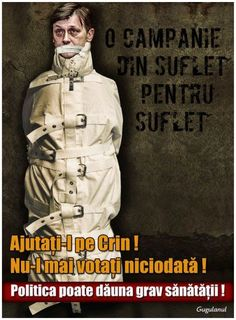 "Crin Antonescu, he wants to be ""ze"" presidente"