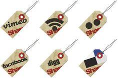 Hang Tag Social Icons