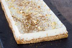 Barra de galleta y leche merengada (vegan)