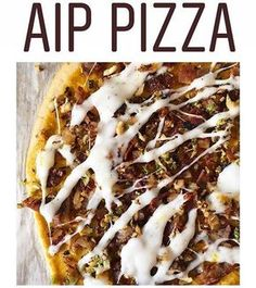 I can't get over how amazing this pizza that made looks! That is my on top, aka Queso Blanco in my cookbook It melts. It stretches. Autoimmune Diet, Aip Diet, Zoodle Recipes, Paleo Recipes, Nightshade Free Recipes, Diet Desserts, Anti Inflammatory Recipes, Le Chef, Paleo Dinner
