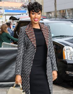 """Tapered Pixie Jennifer Hudson rocks this edgy look, which according to Delgado is """"super fun, sexy, and chic!"""" He continued: """"It's a very versatile cut! Make it short with little movement on top or longer with some funk and angles framing your face."""" The style is recommended if your mane has natural texture. He also suggested keeping it tight around the hairline above the ears and nape and slightly angling it near the top of the head."""