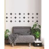 Found it at Wayfair - Forme Crazy Square Wall Decal