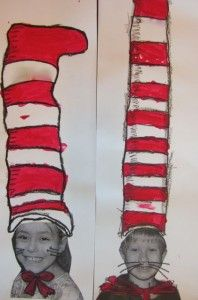 """Cats in Hats! Combine with writing activity...maybe """"If I were the Cat in the Hat, I would...""""."""