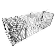 Tomahawk Original Series Rigid Trap with Easy Release Door for Large Raccoons and Woodchucks - 60