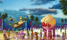 Disney's Art of Animation resort!! Definitely staying there next trip!!