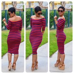 mimi g.: #DIY Striped Dress