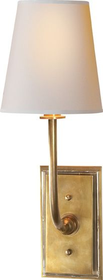 HULTON SCONCE   Circa Lighting - sweet and simple; a smaller scale option to flank the front door