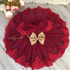 Princess Julia in Burgundy   Shop: ittybittytoes.com (search Julia)  OR click the link in our bio for details We Ship WORLDWIDE