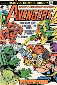 the Avengers (vol.1) #130 by Gil Kane & Dave Cockrum