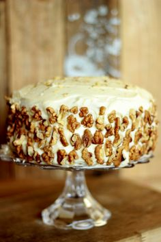 All mums loves a carrot cake, and, everyone's mum makes the best one! So return the favour and bake your own this year. Yum!