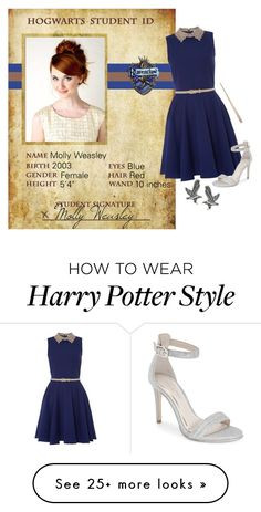"""""""Harry Potter Next Gen: Molly Weasley"""" by laceyleanne18 on Polyvore featuring Almari, Kenneth Cole and Tressa"""
