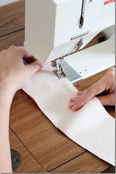 Sewing tip: Sew a nice, straight line!