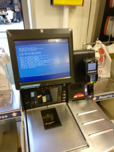 Even tills need a FS check every now and then #bsod #pbsod