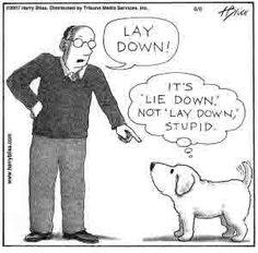 Lay/Lie