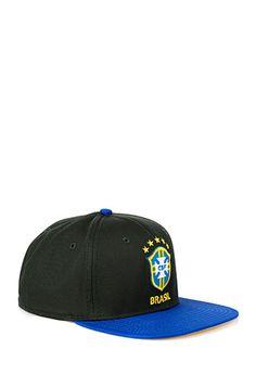 fa98a20eb2e CBF Brasil Snapback Hat